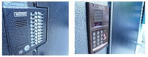 Двери металлические для установки домофона