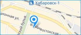 """ООО """"Альянс"""" на карте Хабаровска"""