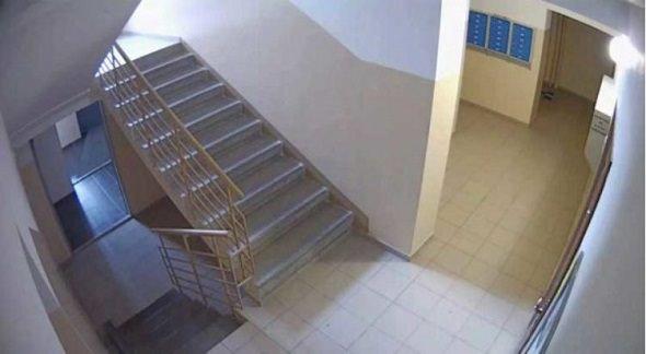 Видеонаблюдение на лестничной клетке